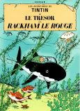 Der Schatz Rackhams des Roten, 1944 (französisches Filmposter) Kunstdrucke von  Hergé (Georges Rémi)