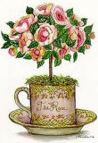 Tea Topiary 5 Print by Consuelo Gamboa
