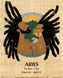 Aries (Mar 21-Apr 19) Art by Orah-El