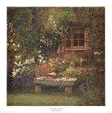 Little Brown Cottage Prints by Dwayne Warwick