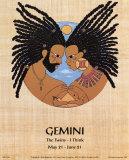 Gemini (May 21-Jun 21) Prints by  Orah-El
