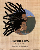 Capricorn (Dec 22-Jan 19) Prints by Orah-El