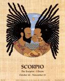 Scorpio (Oct 24-Nov 21) Art Print by  Orah-El