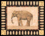 Elephant Prints by Pamela Gladding