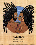 Taurus (Apr 20-May 20) Prints by Orah-El