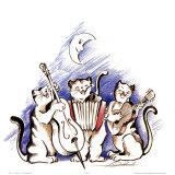 Katzenjammer Kunstdrucke von Alfred Gockel