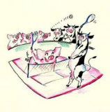 Offenes Tier-Turnier Poster von Alfred Gockel