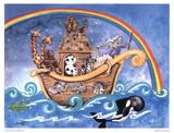 L'Arca di Noè Stampe di Lila Rose Kennedy