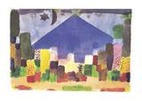 Der Niesen Posters par Paul Klee
