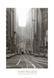 California Street, San Francisco, 1964 Plakater af Todd Walker