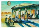 Reyna's Desert Cafe Poster af Gockel, Alfred