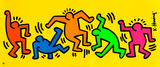 1958-1990 Affiche par Keith Haring