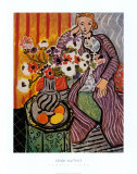 Purple Robe Print by Henri Matisse