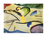 Man on a Horse Poster by Wassily Kandinsky