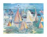 Regata Poster di Raoul Dufy