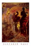Le torero hallucinogène, vers 1970 Poster par Salvador Dalí