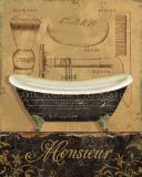 Bain de Monsieur Posters par Daphne Brissonnet