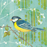 Blue Sky Songbird II Prints by D. Salusti