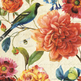 Rainbow Garden II Kunstdrucke von Lisa Audit