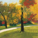 Early Autumn Reds Prints by Lynn Krause