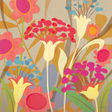 Floral Folio I Poster by Cary Phillips