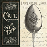 French Menu I Art Print by  Pela