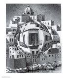 M. C. Escher - Balcony Obrazy