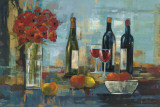 Fruit and Wine Prints by Silvia Vassileva