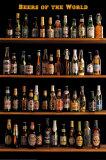 Bieren van overal ter wereld Poster