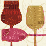 Colorful Wine I Prints by  Pela