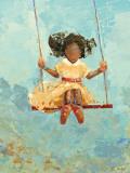 Swing No. 11 Kunstdruck von Rebecca Kinkead
