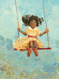Swing No. 11 Print by Rebecca Kinkead