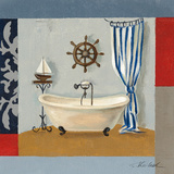 Nautical Bath II Posters by Silvia Vassileva