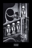 Birth Machine Poster by H. R. Giger
