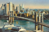 Into Manhattan Art by Marilyn Hageman