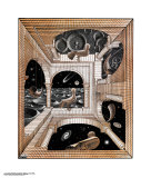 Another World Prints by M. C. Escher