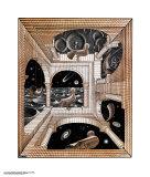 Otro mundo Láminas por M. C. Escher