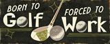 Funny Golf III Poster von  Pela