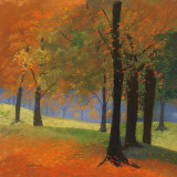 Autumn Trees Prints by Lynn Krause
