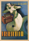 Irradio, 1939 Poster by Gino Boccasile