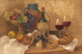 Abundant Table with Pattern Affiches par Albena Hristova