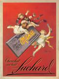 Chocolat Suchard Sztuka autor Leonetto Cappiello