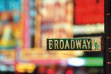 On Broadway Art by  Pela & Richard