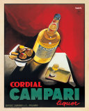 Cordial Campari Poster by Marcello Nizzoli