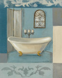 Salle de bain antiqueI Posters par Silvia Vassileva