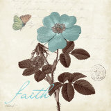 Touch of Blue II, Faith Prints by Katie Pertiet