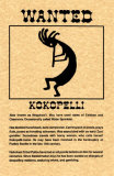 Wanted Kokopelli Prints