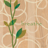 Breathe Print by Cristina Salusti