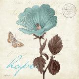 Touch of Blue III, Hope Schilderij van Katie Pertiet