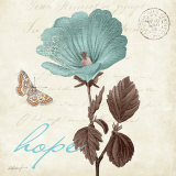 Touch of Blue III, Hope Poster di Katie Pertiet